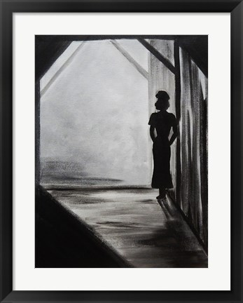 Framed Midnight Affair Female Print