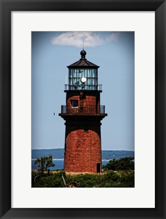 Framed Gay Head Lighthouse Marthas Vineyard MA Print