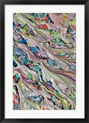 Framed Abstract 30 Print