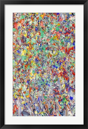 Framed Abstract 33 Print