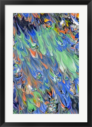 Framed Abstract 37 Print