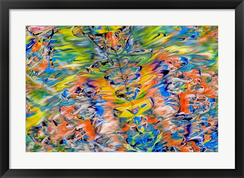 Framed Abstract 38 Print