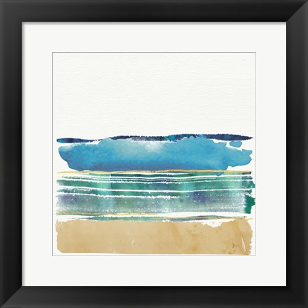 Framed By the Sea I Print