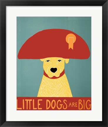 Framed Big Dogs Are Great Print