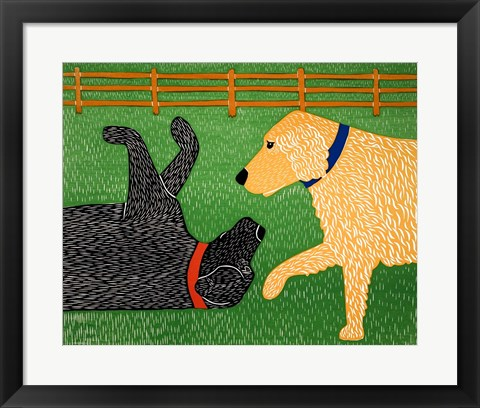 Framed Come on Sally Print