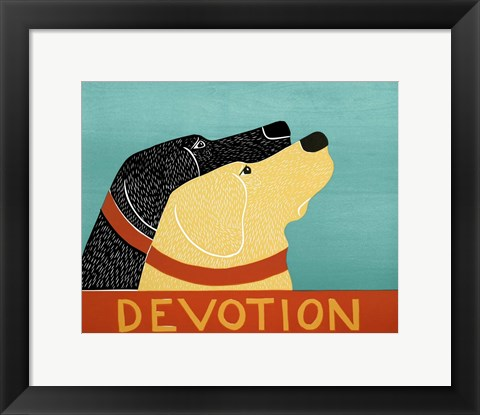 Framed Devotion Print