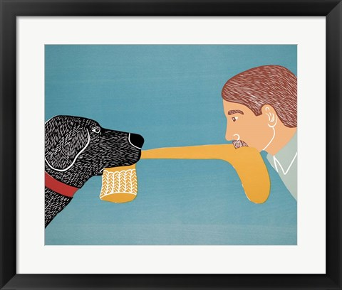 Framed Dogs Bring Out Your Inner Child Print