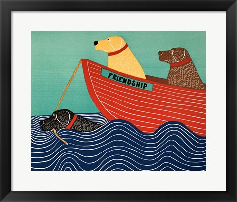 Framed Friendship1 Print
