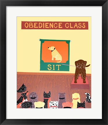 Framed Teacher Choc Print