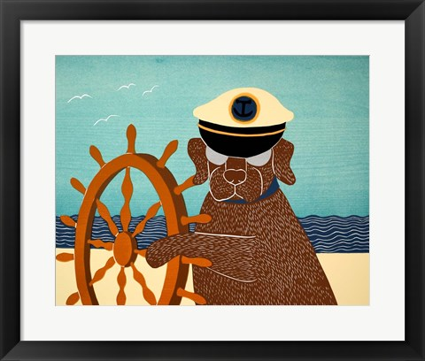 Framed Captain Choc Print