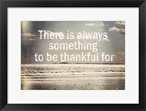 Framed Thankful Print