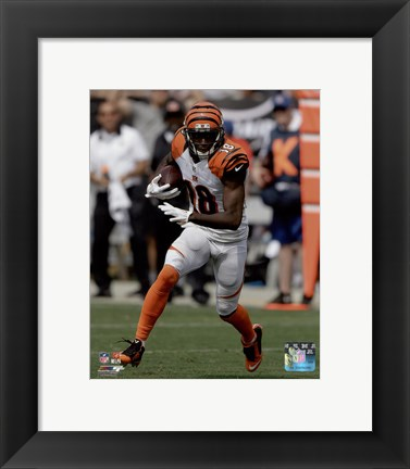 Framed A.J. Green 2015 Action Print