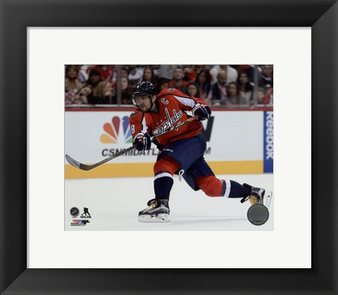 Framed Alex Ovechkin 2015-16 Action Print