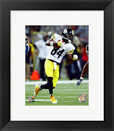 Framed Antonio Brown 2015 Action Print