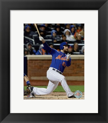 Framed Daniel Murphy Home Run Game 2 of the 2015 National League Championship Series Print