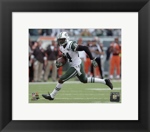 Framed Darrelle Revis 2015 Action Print