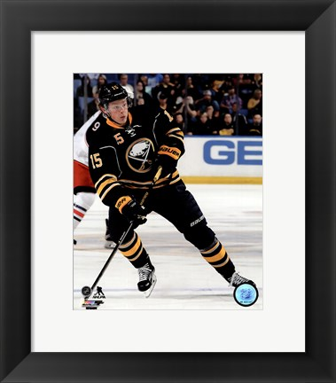 Framed Jack Eichel 2015-16 Action Print