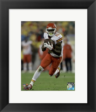 Framed Jeremy Maclin 2015 Action Print