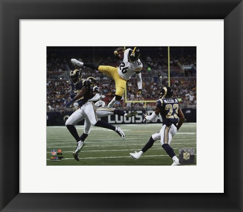 Framed LeVeon Bell 2015 Action Print