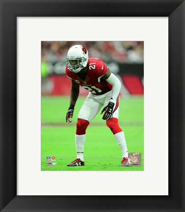 Framed Patrick Peterson 2015 Action Print