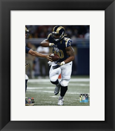 Framed Todd Gurley 2015 Action Print