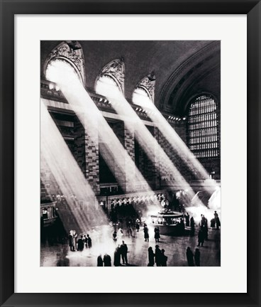 Framed New York - Grand Central Station Print