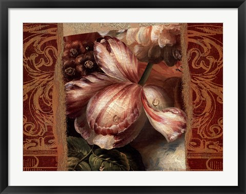 Framed Classic Dutch Tulip Print