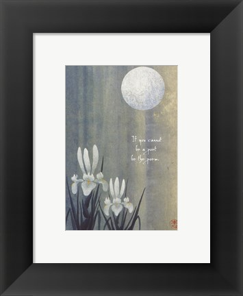 Framed Poem Print