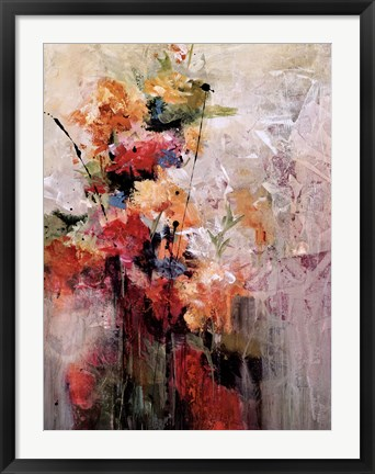 Framed Blooming Print
