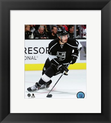 Framed Drew Doughty 2015-16 Action Print