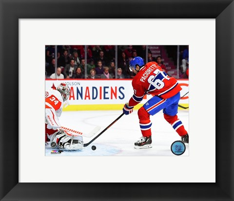 Framed Max Pacioretty 2015-16 Action Print