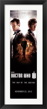 Framed Doctor Who - Day of the Doctor N Print