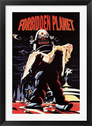 Framed Forbidden Planet - Robby Carryin Print