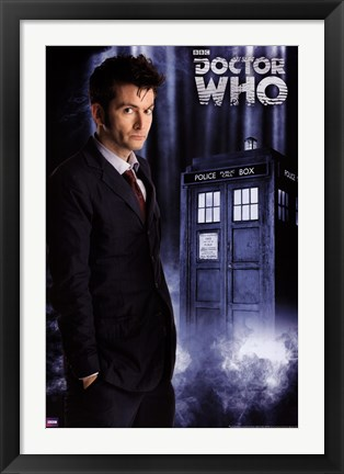 Framed Doctor Who - David Tennant Tenth Print
