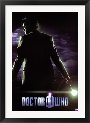 Framed Doctor Who - Sixth Series Print