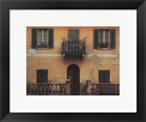 Framed Magliano in Toscana Print