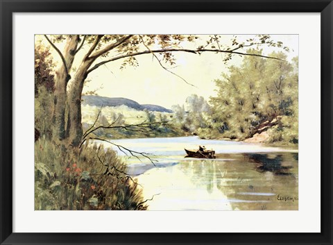 Framed Water Gap Print