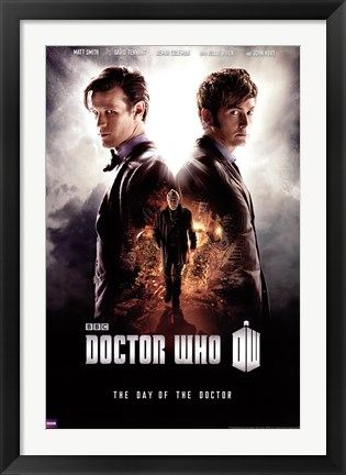 Framed Doctor Who - Day of the Doctor Print