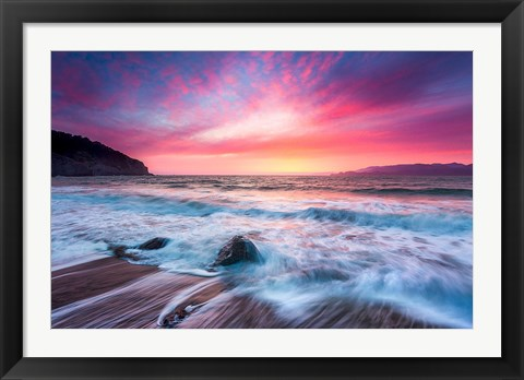 Framed Distant Glow Print