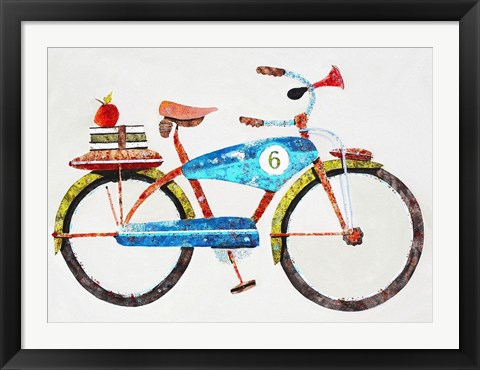 Framed Bike No. 6 Print