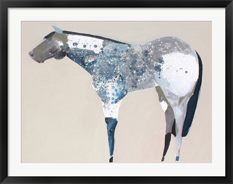 Framed Horse No. 34 Print