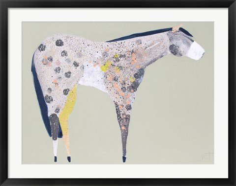 Framed Horse No. 60 Print