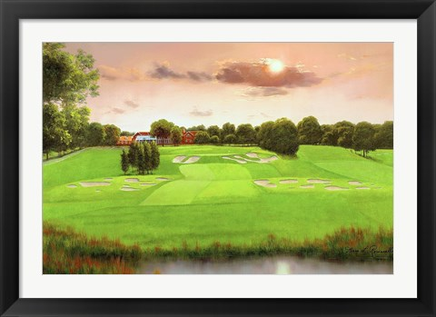 Framed Bethpage Black 18 Print