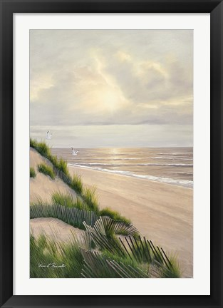 Framed Morning Tide Print