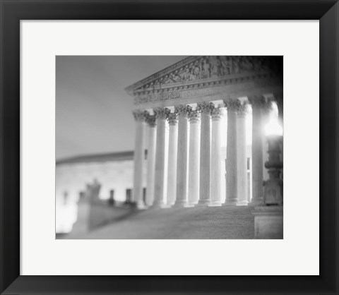 Framed US Supreme Court, Washington DC Print
