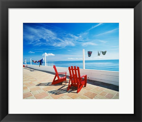 Framed Cape Cod Print