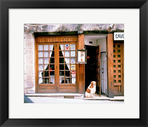 Framed Entrance to Paris, France Print