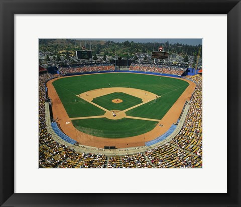 Framed Dodger Stadium Print