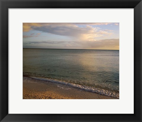 Framed Gulf of Mexico, Sanibel Island, Florida Print