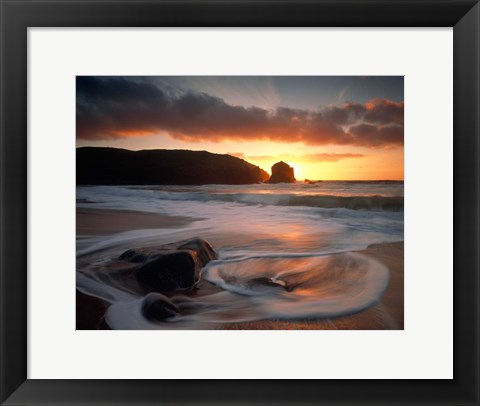 Framed Isle Of Lewis Outer Hebrides, Scotland Print